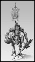 Jousting Mech by rickystinger88