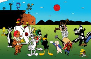 Looney Tunes Universe_color by TheVampireMouse
