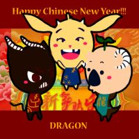 Happy Chinese Dragon Year!!! by ChocoGhost