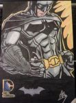Batman New DC 52 sketch card by Grymjack