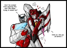 TF: Kiss it Better - Colour by Avro-Chan