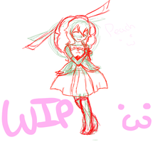 Peach WIP by Haujustexploded