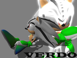 Chaos Hedgehog - Verdo by Adreos