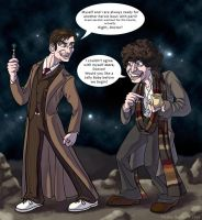 Dr Who Tag Team by SilverSkye