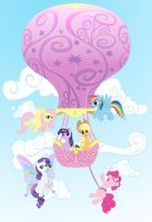 Up and Away! by ReiDavidson