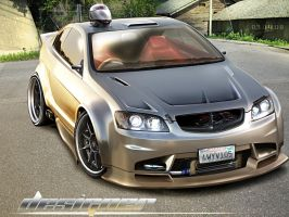 2008 Holden Coupe 60 Concept by D3516N3R