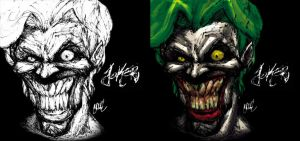 Quick Joker Face by theCHAMBA