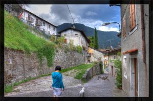 Alleys of Vesio di Tremosine 01 by deaconfrost78