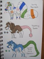 SWIRLY SQUIGGLE FOR SALE by EnchantedAdopts
