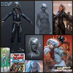 Comicon '10 Storm - sheet_01 by polyphobia3d