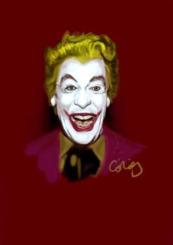Cesar Romero as The Joker by ChristopherChrisps