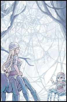 Frozen webs by Karbo