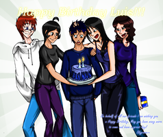 Happy Birthday Roadfreez :) by skyrore1999