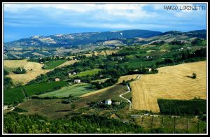 MAIOLATI SP. (AN) - COUNTRYSIDE TOWARD CINGOLI by MarcoLorenzetti