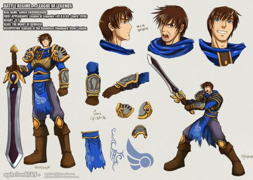 Battle Rehime |  Garen Crownguard by sphelon8565