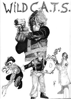 Travis Charest's WildC.A.T.S. by Jer101