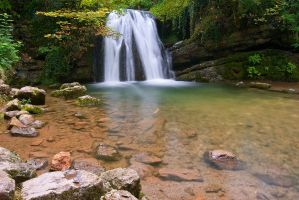 Janet's Foss Falls by taffmeister
