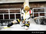 Vocaloid02-Hard Rock Kagamine by soulCerulean