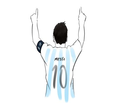 Messi by DaroLoire