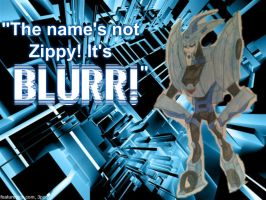 My name is Blurr! NOT Zippy! by SassyMuffins