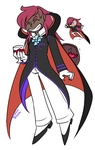 vampire cookie personification by Aruesso