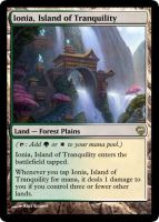 MtG - Ionia, Island of Tranquility by soy-monk