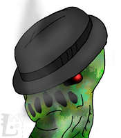 Creeper In A Fedora by SpontaneousFork