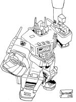 Optimus Prime by MoneyWithPhonso