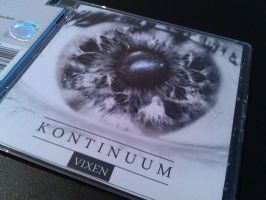 Vixen - Kontinuum CD COVER / LABEL by WildDawid