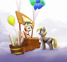 Derpy Deliveries part 3 by MoonlitBrush