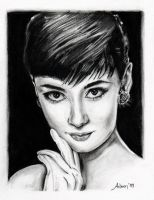 Audrey  Hepburn by Frenchtouch29