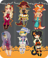 Hallow's Eve Batch - 1 LEFT / $2/200 points by xAsurae
