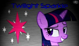 Twilight Sparkle B.A Wallpaper by InternationalTCK