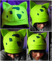 Shiny Bulbasaur Hat by SmileAndLead