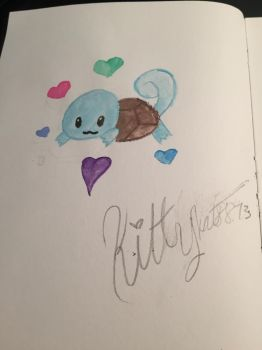 Chibi Squirtle by Kittykat8873