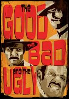The Good the Bad and the Ugly by StuntmanKamil
