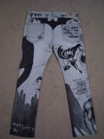 The Batman Pants - back by cheshirecatart