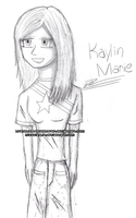 A Sketch of Me. by Miss-Kaylin