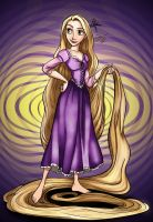 Coloring book- Rapunzel by marltonder