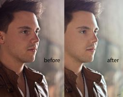 christian k - before-after by MReiser