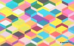 Geometric Blurred Color Shapes Wallpaper by Supercolorstudio