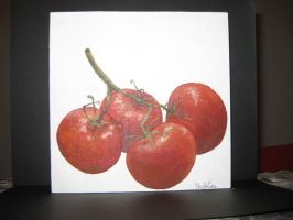 some tomatoes by nicolecurcis
