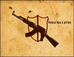 Peace has a price.. by crimecontrol