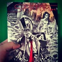 My first comic book work in print by Marvelzukas