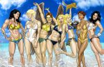 JLA Girls Beach fun by joephillips