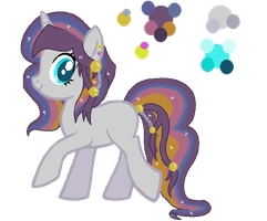 Requested Space Theme Pony for inkamena-less by LieutenantKyohei
