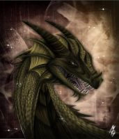 Realistic Dragon by xXgunderXx
