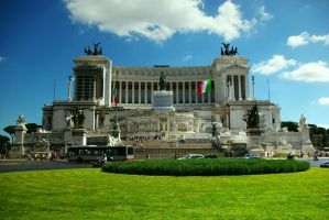 Monument to Vittorio Emanuele by Kaja-kgr