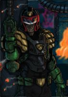 Judge Dredd by JohnOsborne