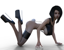 Bunny by Shadow23d